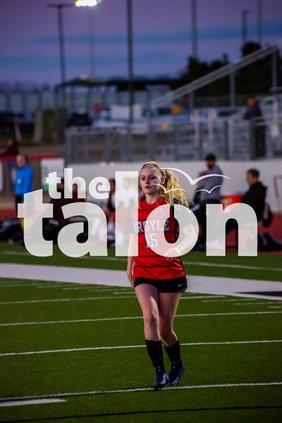 The Lady Eagles defeat Gainseville at Argyle High School on 1-31-20 (Alex Daggett   The Talon News)