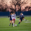 The Lady Eagles play a scrimmage against Liberty Christian on 12-17-19. (Alex Daggett / The Talon News)