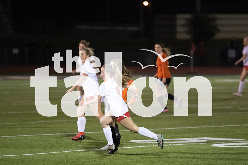 The Lady Eagles defeat Springtown with a fianl score of 5-0 in Springtown, TX at PoJo stadium March 3, 2020.  (Stacy Short | The Talon News)