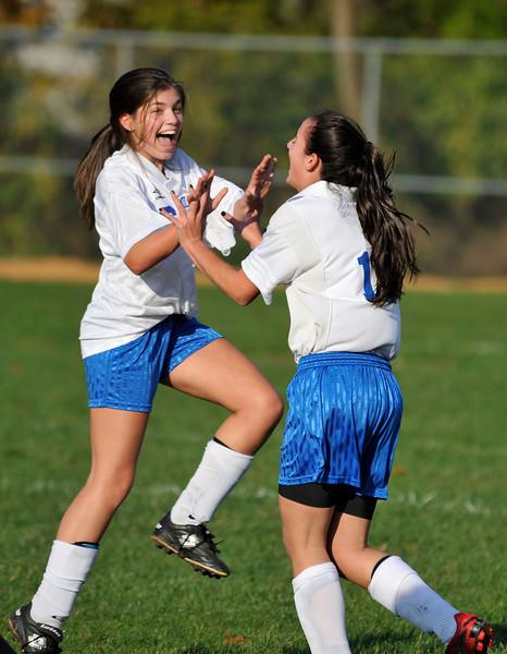 Freshman Girls vs Pequannock 10.13.2009
