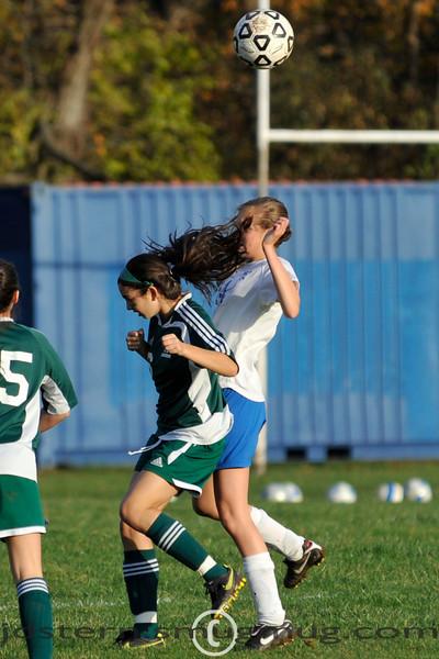 JV Girls vs Livingston 10.26.2009