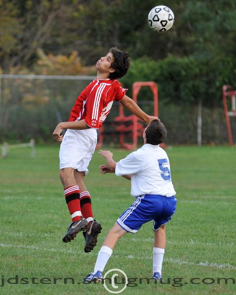 JV Boys Soccer vs East Side 10.08.2009