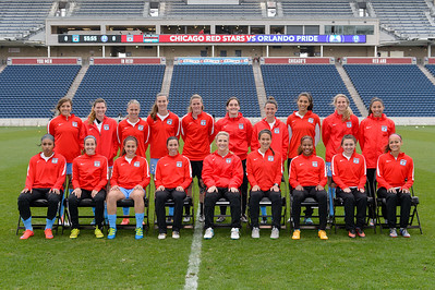 Chicago Red Stars Team Photo