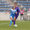 Bridgeview, IL, USA - Sunday, May 1, 2016:  during a regular season National Women's Soccer League match between the Chicago Red Stars and the Orlando Pride at Toyota Park.