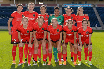 Portland Thorns FC Starting Eleven