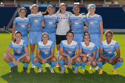 Chicago Red Stars Starting Eleven