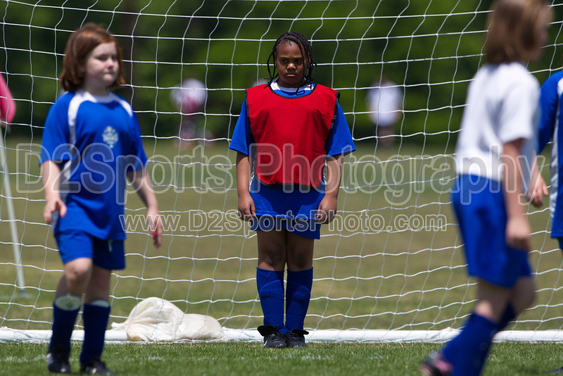 Twin City Rec Festival<br /> U10 Girls - Lightning, Angels, Spirit, Stars<br /> Saturday, May 07, 2011 at BB&T Soccer Park<br /> Advance, NC<br /> (file 125742_BV0H1134_1D4)