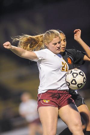 San Mateo High JV Girls soccer vs. M-A 2015-02-03