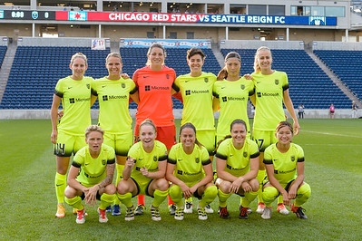 Seattle Reign Starting XI