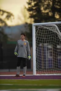 Menlo-Atherton High School Boy's Varsity Soccer vs. Sequoia High, February 11, 2015