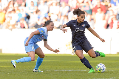 Bridgeview, IL, USA - Sunday, May 29, 2016:  during a regular season National Women's Soccer League match between the Chicago Red Stars and Sky Blue FC at Toyota Park.