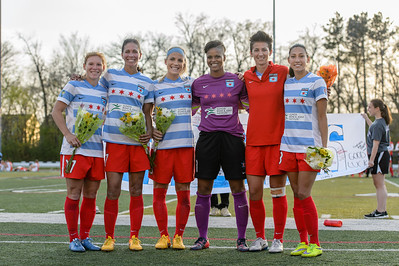 Sky Blue FC @ Chicago Red Stars @ Benedictine University 05.02.15