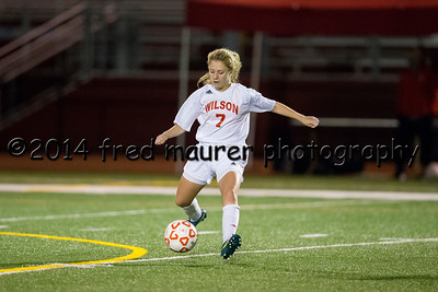 Wilson Girls vs Penn Manor 10/21/2014