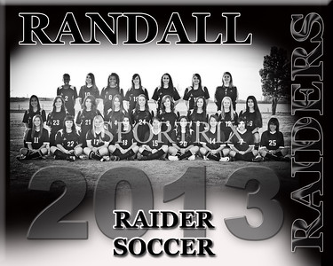 Randall Raiders Girls 2013