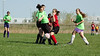2947<br /> <br /> April 21 2006 <br /> GLRSA  Girls Soccer Match<br />  at Cat Fields<br />  Lafayette Indiana