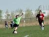 1396<br /> <br /> April 21 2006 <br /> GLRSA  Girls Soccer Match<br />  at Cat Fields<br />  Lafayette Indiana