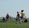2885<br /> <br /> April 21 2006 <br /> GLRSA  Girls Soccer Match<br />  at Cat Fields<br />  Lafayette Indiana