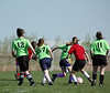 A2941<br /> <br /> pril 21 2006 <br /> GLRSA  Girls Soccer Match<br />  at Cat Fields<br />  Lafayette Indiana