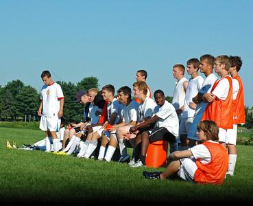 Assortment of Soccer Photos