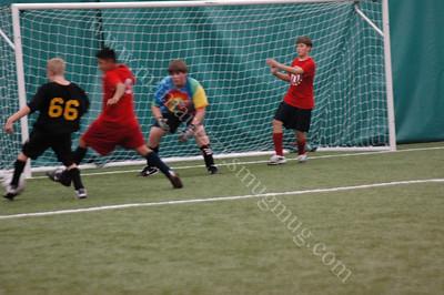 GOAL ! Soccer goal scored