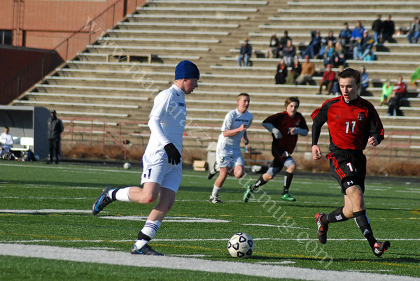 Indy Burn Club Soccer Action