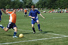 Sullivan Soccer Player Shot on Goal<br /> June 2, 2006<br /> West Lafayette, Indiana<br /> Blue Heat vs Sullivan