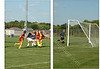 Soccer <br /> 2 piece picture<br /> Goal Scored