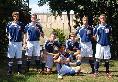 Class of 2012 Soccer Seniors
