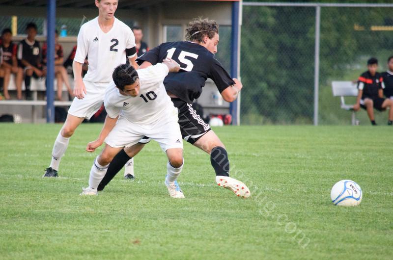 August 29, 2013 - Harrison vs Logansport High School Soccer photo #1671