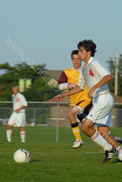 September 3, 2009<br /> West Lafayette, Indiana<br /> Soccer Field<br /> High School Soccer Game<br /> McCutcheon Mavericks<br /> vs<br /> West Lafayette Red Devils