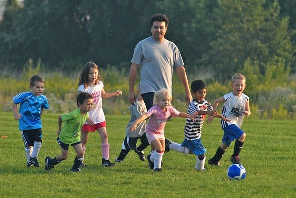 Subdivision Soccer Practice