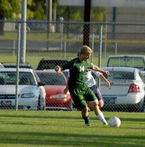 Benton Central vs Harrison - October 2, 2008  Guys  Soccer Game
