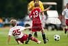 U11 JASA LANCERS vs U11 FCCA CHALLENGE 2009 Winston-Salem Twin City Classic Soccer Tournament Saturday, August 22, 2009 at BB&T Soccer Park Advance, North Carolina (file 084521_803Q0977_1D3)