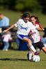 U14 Girls  CASL COUGARS G  vs TCYSA Lady Twins Red<br /> 2011 ChallengeFest Tournament<br /> Saturday, October 08, 2011 at Sara Lee Soccer Complex<br /> Winston-Salem, NC<br /> (file 095923_BV0H5853_1D4)