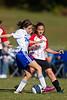 U14 Girls  CASL COUGARS G  vs TCYSA Lady Twins Red<br /> 2011 ChallengeFest Tournament<br /> Saturday, October 08, 2011 at Sara Lee Soccer Complex<br /> Winston-Salem, NC<br /> (file 095922_BV0H5851_1D4)