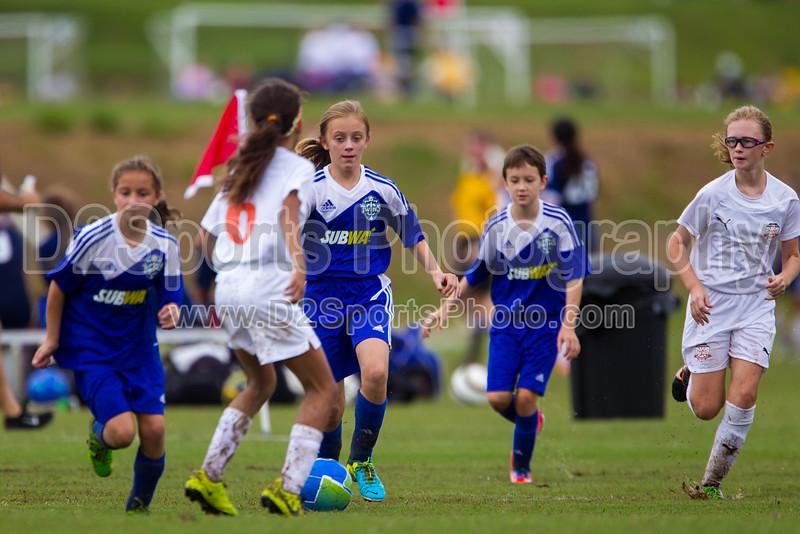 02 NCUSA ORANGE G vs TCYSA 02 LADY TWINS SILVER Winston Salem Twin City Classic Soccer Tournament Sunday, August 18, 2013 at BB&T Soccer Park Advance, North Carolina (file 113323_BV0H1504_1D4)