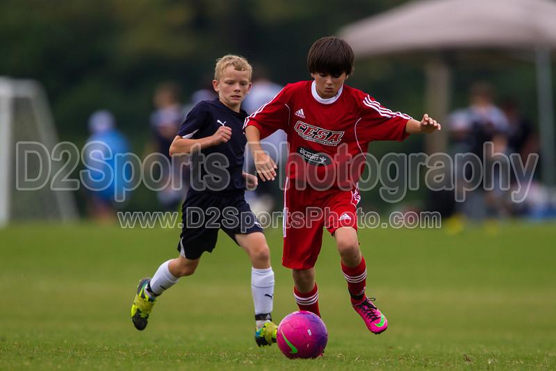 CESA U14 B SELECT BLACK vs ROANOKE STAR PREMIER<br /> Winston Salem Twin City Classic Soccer Tournament<br /> Saturday, August 17, 2013 at BB&T Soccer Park<br /> Advance, North Carolina<br /> (file 131804_BV0H0429_1D4)