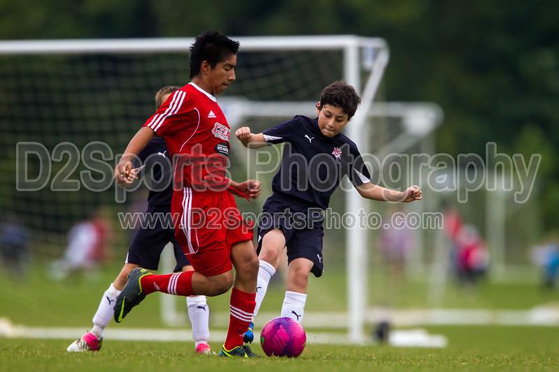 CESA U14 B SELECT BLACK vs ROANOKE STAR PREMIER<br /> Winston Salem Twin City Classic Soccer Tournament<br /> Saturday, August 17, 2013 at BB&T Soccer Park<br /> Advance, North Carolina<br /> (file 131254_BV0H0417_1D4)