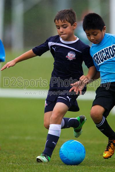 GUIL RAND PERUCHOS vs NCUSA 03 BOYS NAVY Winston Salem Twin City Classic Soccer Tournament Saturday, August 17, 2013 at BB&T Soccer Park Advance, North Carolina (file 141250_BV0H0592_1D4)