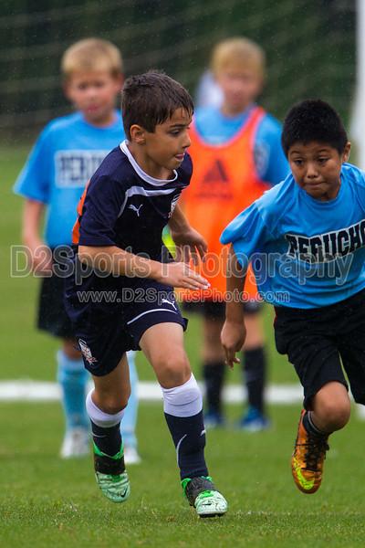 GUIL RAND PERUCHOS vs NCUSA 03 BOYS NAVY Winston Salem Twin City Classic Soccer Tournament Saturday, August 17, 2013 at BB&T Soccer Park Advance, North Carolina (file 141248_BV0H0591_1D4)