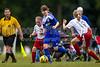 TCYSA 02 LADY TWINS BLUE vs EAST WAKE 02 LADY HAMMERS-WHITE Winston Salem Twin City Classic Soccer Tournament Sunday, August 18, 2013 at BB&T Soccer Park Advance, North Carolina (file 111322_BV0H1450_1D4)