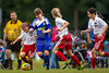 TCYSA 02 LADY TWINS BLUE vs EAST WAKE 02 LADY HAMMERS-WHITE Winston Salem Twin City Classic Soccer Tournament Sunday, August 18, 2013 at BB&T Soccer Park Advance, North Carolina (file 111322_BV0H1452_1D4)