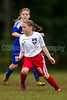 TCYSA 02 LADY TWINS BLUE vs EAST WAKE 02 LADY HAMMERS-WHITE Winston Salem Twin City Classic Soccer Tournament Sunday, August 18, 2013 at BB&T Soccer Park Advance, North Carolina (file 110830_BV0H1435_1D4)