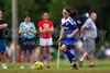 TCYSA 02 LADY TWINS BLUE vs EAST WAKE 02 LADY HAMMERS-WHITE Winston Salem Twin City Classic Soccer Tournament Sunday, August 18, 2013 at BB&T Soccer Park Advance, North Carolina (file 111234_BV0H1447_1D4)