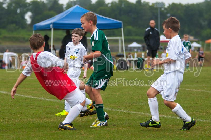 TCYSA 03 TWINS vs FCCA U10 CABARRUS BOYS WOLVES Winston Salem Twin City Classic Soccer Tournament Saturday, August 17, 2013 at BB&T Soccer Park Advance, North Carolina (file 143229_803Q3666_1D3)