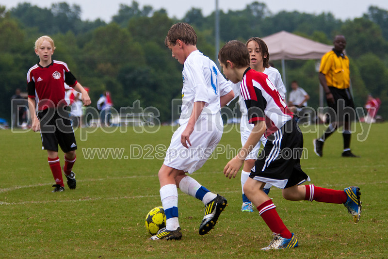 TCYSA TWINS WHITE vs 01 HFC WHITE Winston Salem Twin City Classic Soccer Tournament Saturday, August 17, 2013 at BB&T Soccer Park Advance, North Carolina (file 085738_803Q3432_1D3)
