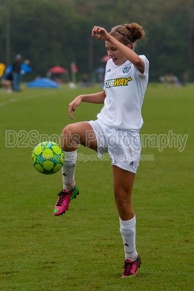 TCYSA U 14 LADY TWINS RED vs GREENSBORO UNITED U-13 FREEDOM Winston Salem Twin City Classic Soccer Tournament Saturday, August 17, 2013 at BB&T Soccer Park Advance, North Carolina (file 113433_803Q3515_1D3)