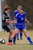 97 NCSF Elite G vs CSA Charlotte SA Predator G - U15<br /> North Carolina USYS State Cup Preliminary Matches<br /> Sunday, November 04, 2012 at Mazeppa Rd Park<br /> Mooresville, NC<br /> (file 140916_BV0H9761_1D4)
