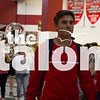 A send-off is held in honor of the varsity boys soccer team making it to the state championship on April 12, 2016. (Erin Eubanks)
