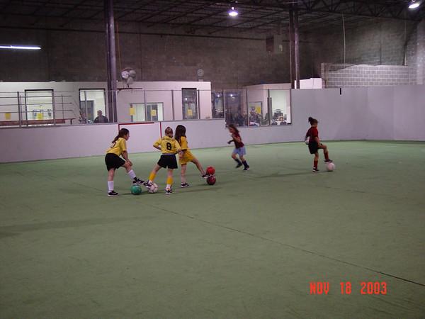Stingers Practice 11-18-03